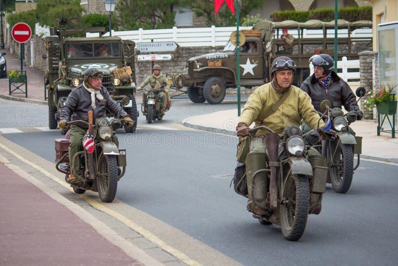 Convoglio militare fotografia stock libera da diritti