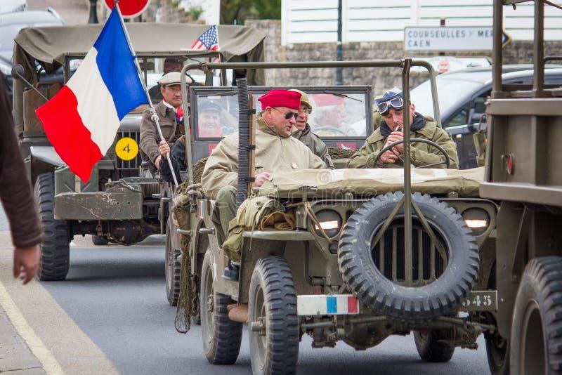 Convoglio militare immagine stock libera da diritti