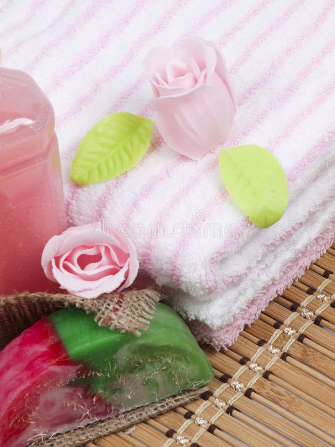 Download Convolute towels stock image. Image of cotton, hygiene - 18202547
