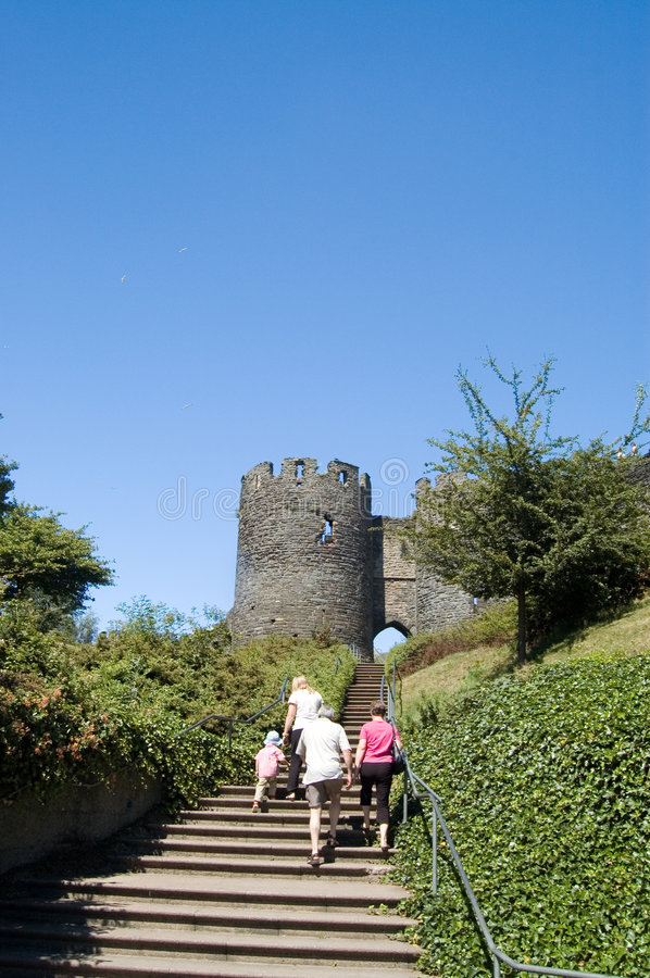 Conway Castle royalty free stock photography