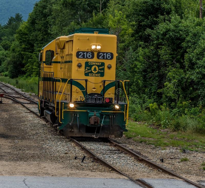 Conway Scenic Railroad, Conway du nord photo libre de droits