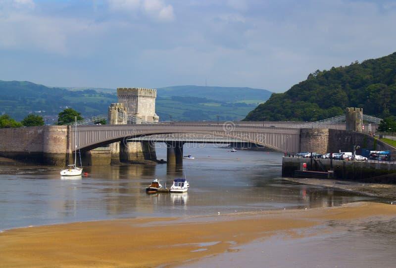 Download Conwy река стоковое фото. изображение насчитывающей берег - 41660716