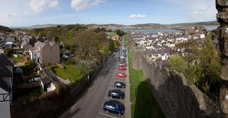 Download Conwy Castle stock photo. Image of conwy, stronghold - 19541482