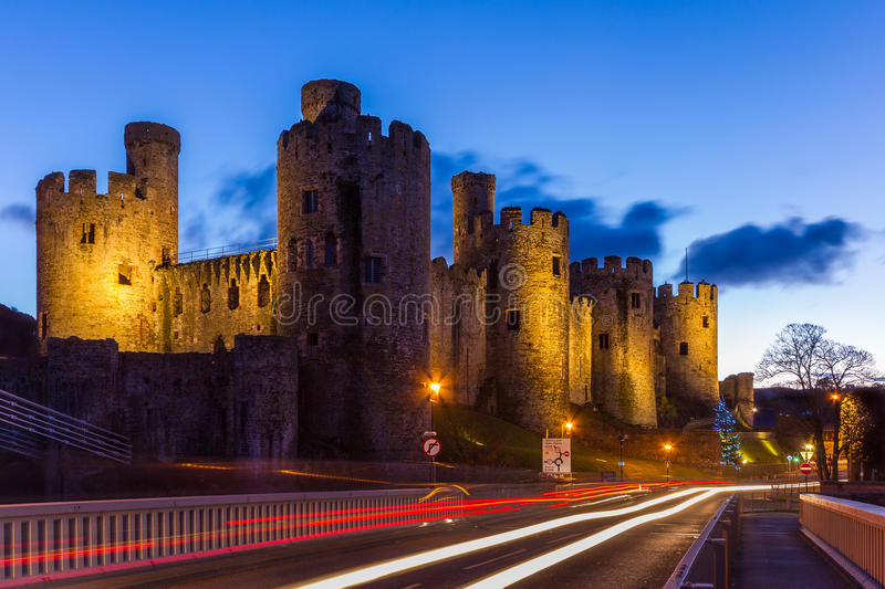 Download Conwy Castle stock image. Image of heritage, edwardian - 38726269