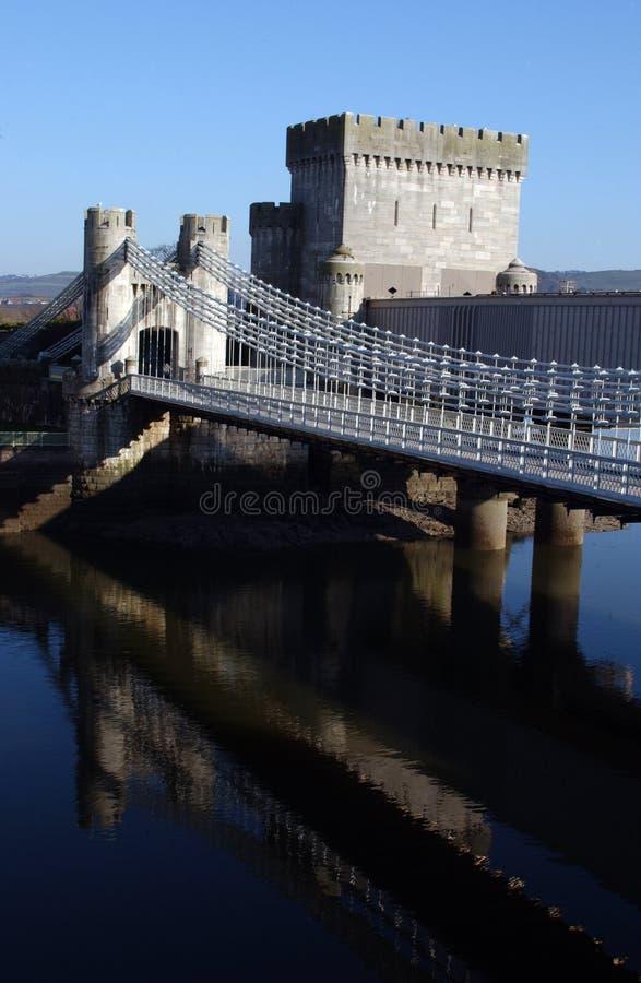 Conwy Schloss lizenzfreies stockfoto