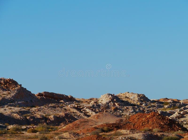 Coober Pedy in Australia Meridionale fotografia stock libera da diritti