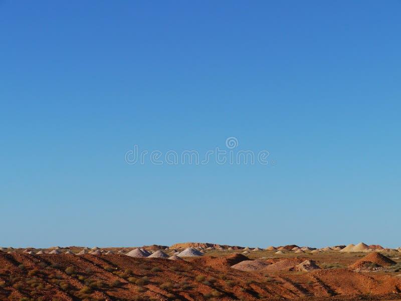Coober Pedy in Australia Meridionale immagini stock libere da diritti