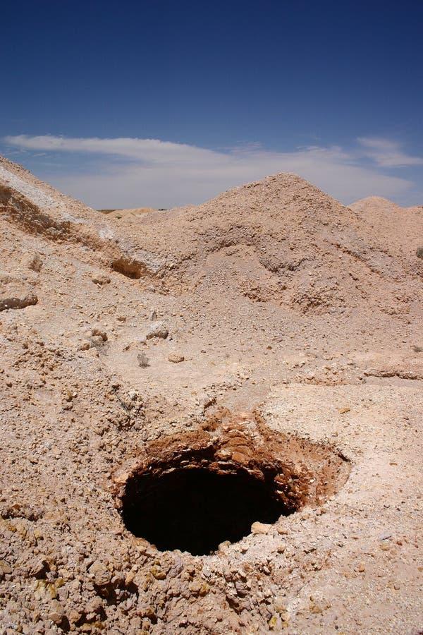 Coober Pedy - Opal Mining Royalty Free Stock Photo
