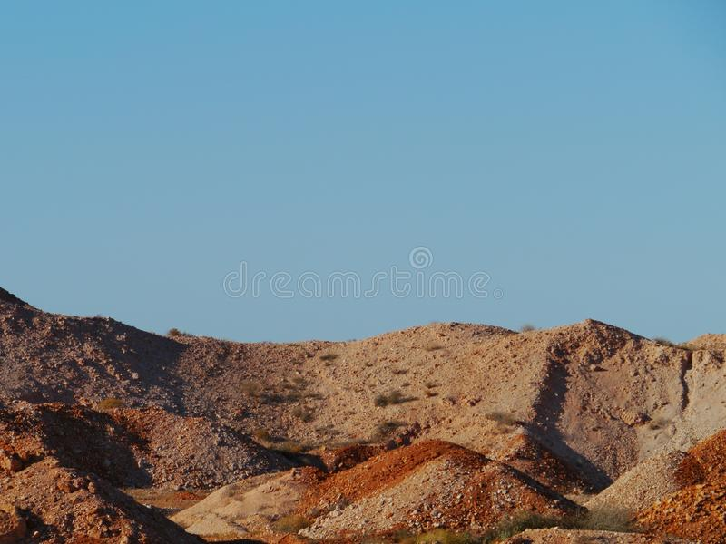 Coober Pedy. Is a town in northern South Australia at the Stuart Highway and is famous for its opal mines stock image