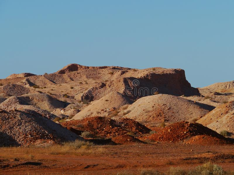 Coober Pedy. Is a town in northern South Australia at the Stuart Highway and is famous for its opal mines royalty free stock images