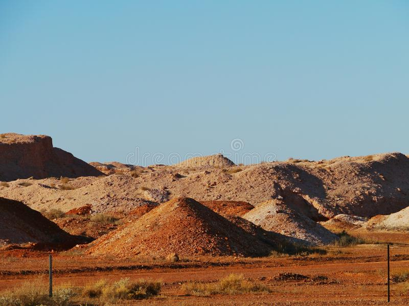 Coober Pedy w Południowym Australia zdjęcie royalty free