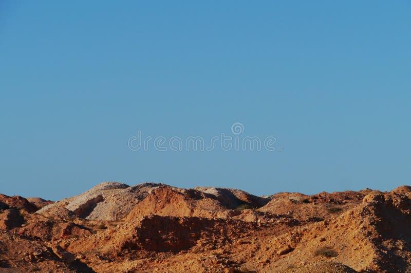 Coober Pedy w Południowym Australia obraz royalty free