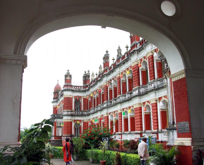 Cooch Behar Palace, igualmente chamado Victor Jubilee Palace imagem de stock royalty free