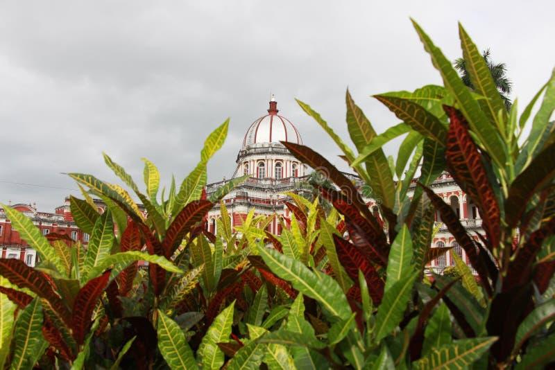 Cooch Behar Palace, igualmente chamado Victor Jubilee Palace fotografia de stock
