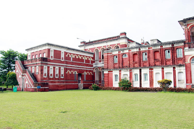Cooch Behar Palace, igualmente chamado Victor Jubilee Palace imagens de stock