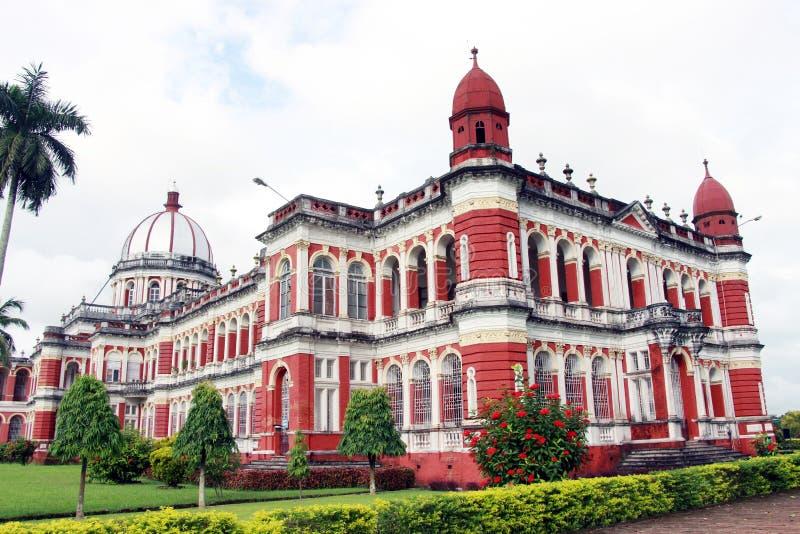Cooch Behar Palace, igualmente chamado Victor Jubilee Palace imagem de stock