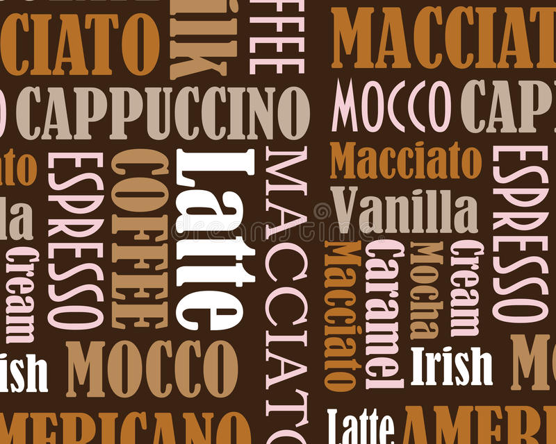 Cooffe background royalty free illustration