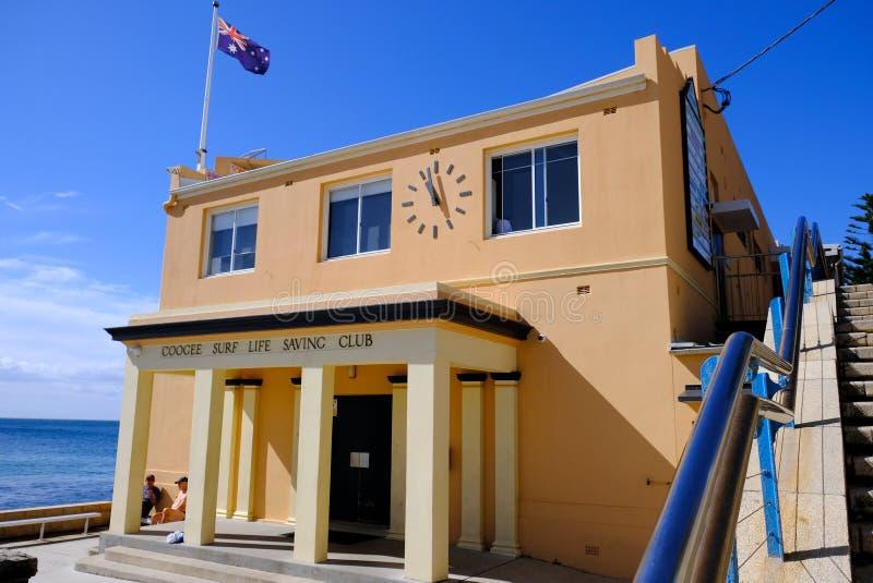 Coogee Surf Life Saving Club House, Sydney, Australia royalty free stock images