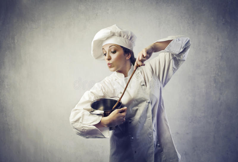 Cook royalty free stock image