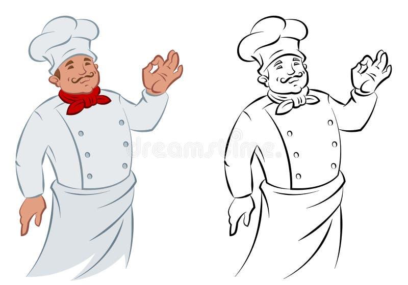 Cook ilustracji
