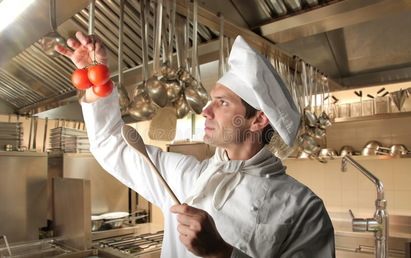 Download Cook stock image. Image of cuisine, person, restaurant - 8856627