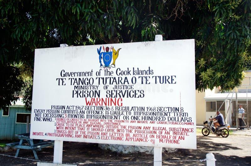 Cook Island Prison Rehabilitation Center In Rarotonga Cook Islan Editorial Stock Photo