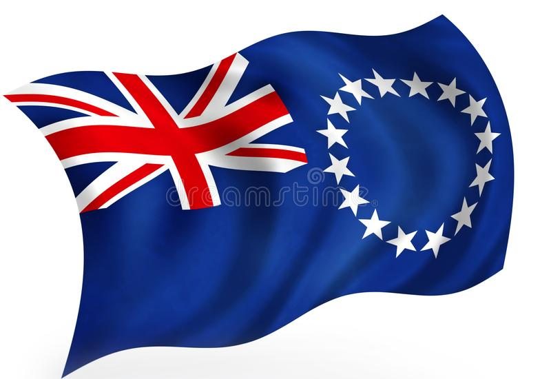 Cook_Islands ilustração royalty free