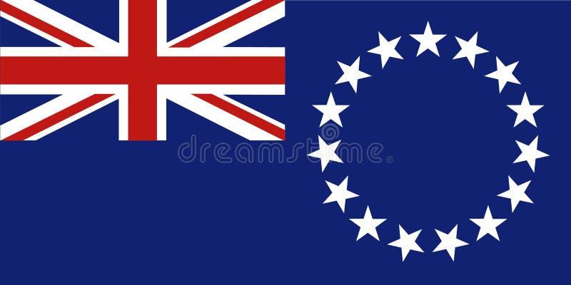 Cook Islands vector illustration