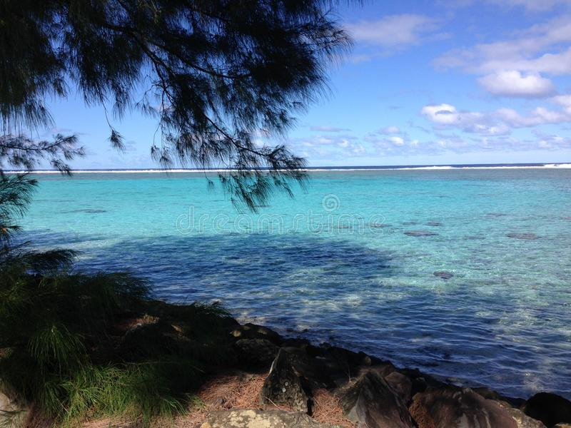 Cook Islands. The Cook Islands in a hot Summer royalty free stock photos