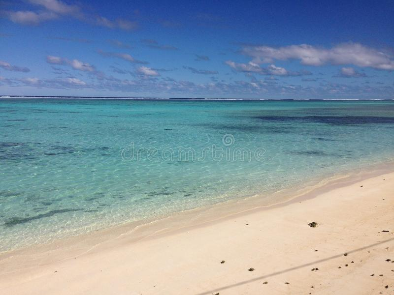 Cook Islands. The Cook Islands in a hot Summer stock photography