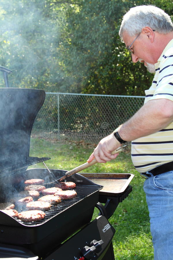 Download Cook Out Burgers Stock Photography - Image: 13905362
