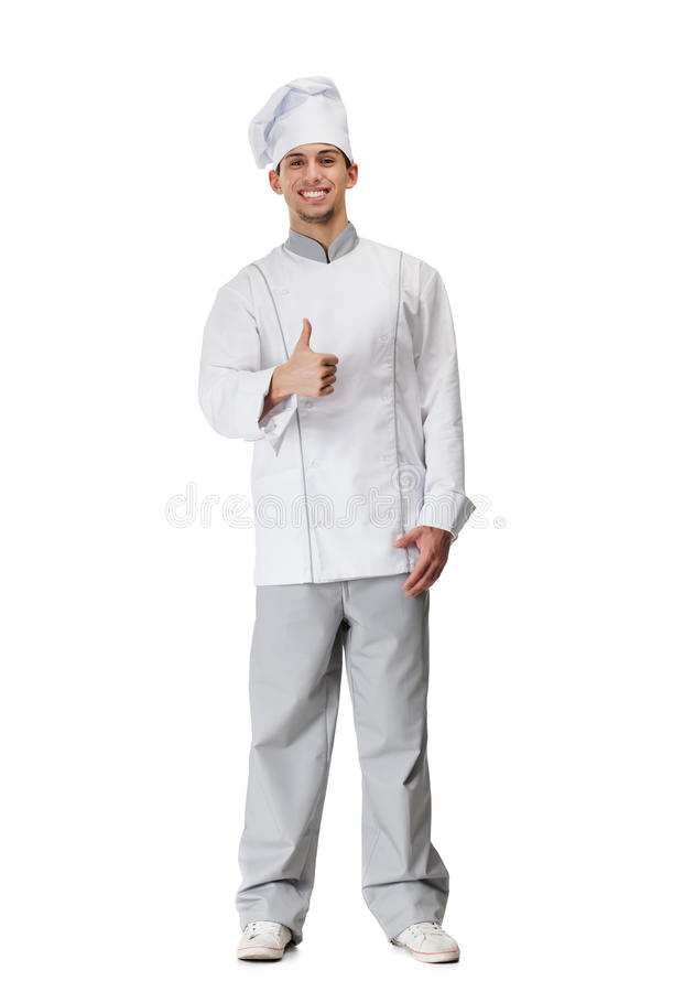 Download Cook thumbs up stock image. Image of body, glad, caucasian - 27112121