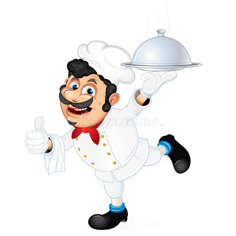 Cook Waiter Royalty Free Stock Images Image 20755559