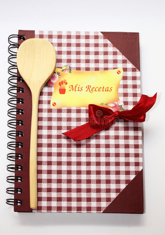 Download Cookbook. stock photo. Image of cook, prepare, wooden - 12441430