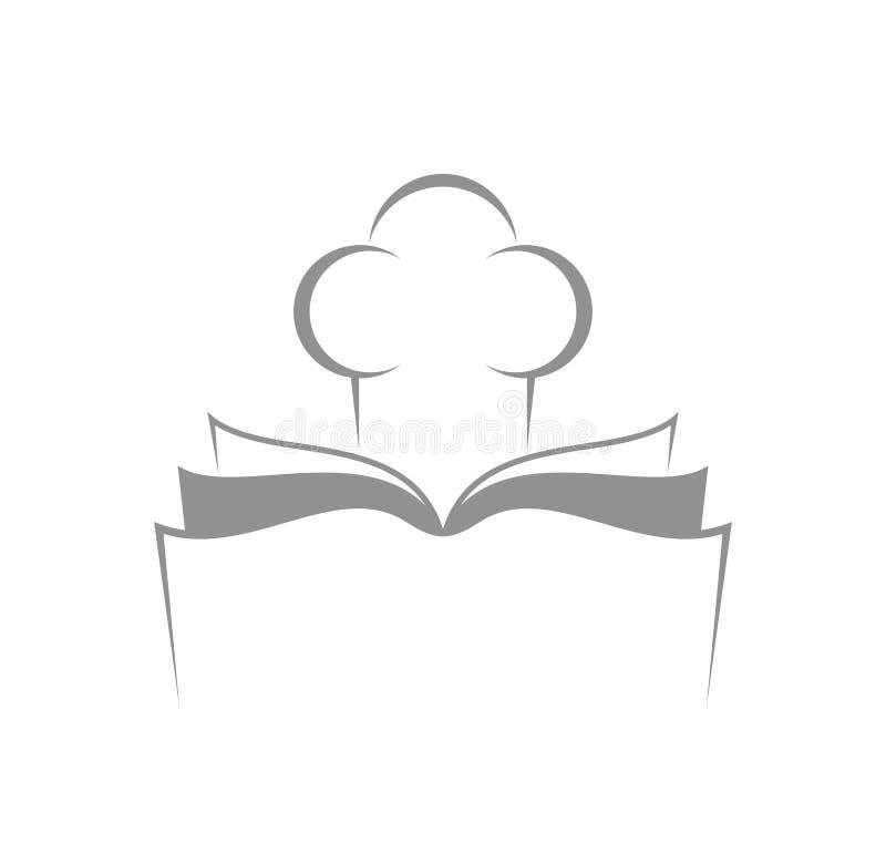 Cookbook. Abstract cookbook. Vector illustration EPS royalty free illustration