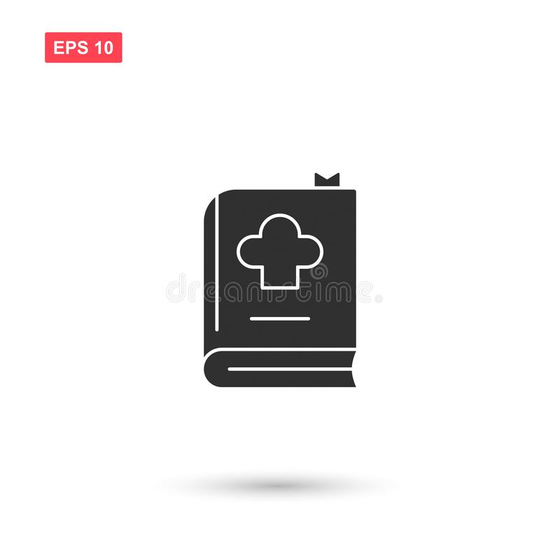 Cookbook icon vector design isolated 3. Eps10 royalty free illustration