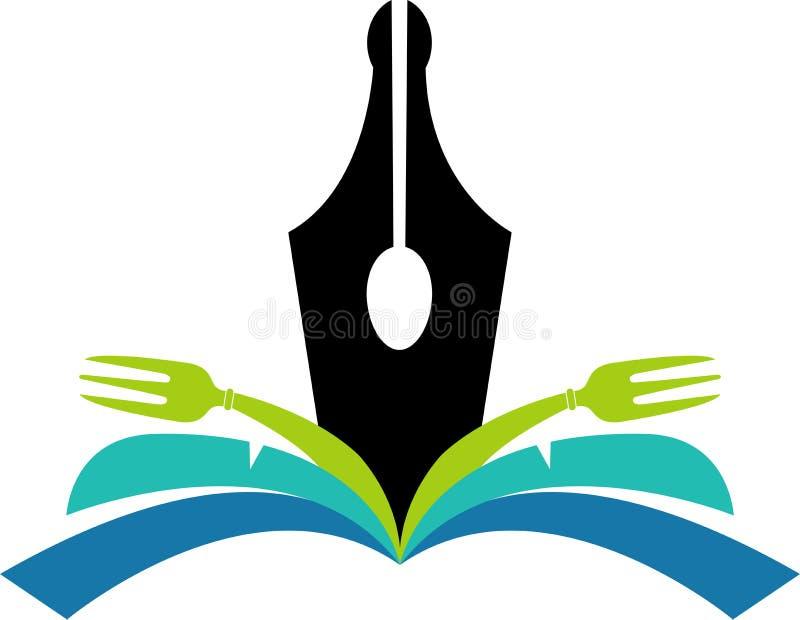 Cookbook Logo Royalty Free Stock Image