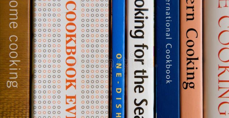 Cookbooks royalty free stock photography