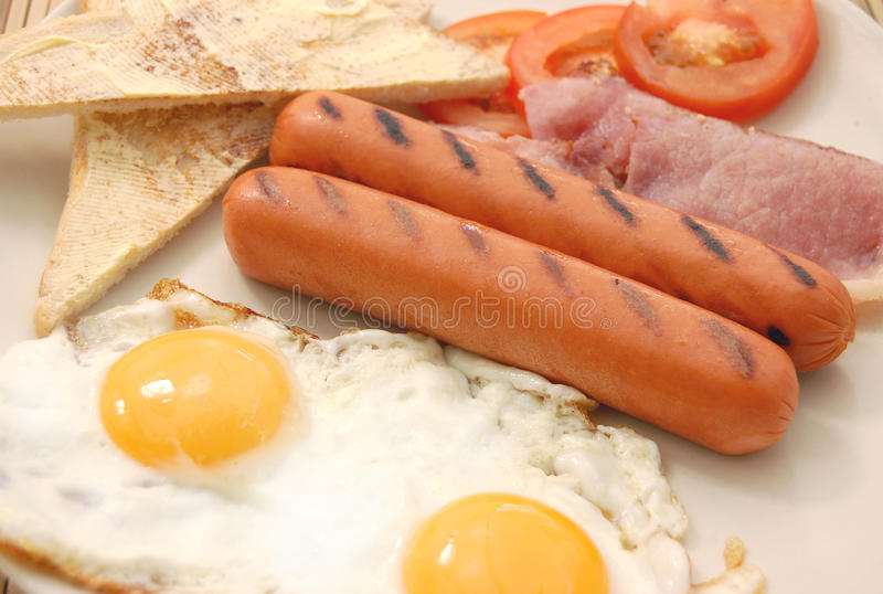 Download Cooked breakfast stock photo. Image of comfort, bacon - 15393132