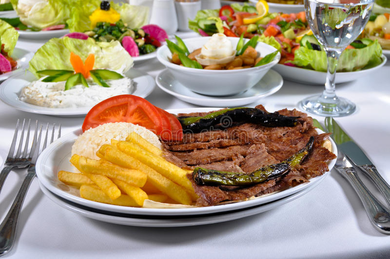 Download Cooked meat stock image. Image of doner, cuisine, kebab - 24776819