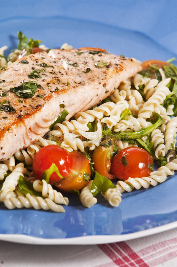Download Cooked salmon stock photo. Image of omega, meal, omega3 - 9103602