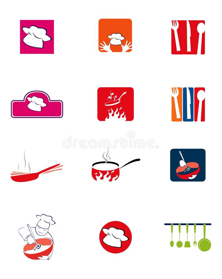 Free Cookery Logos Stock Photography - 13442232