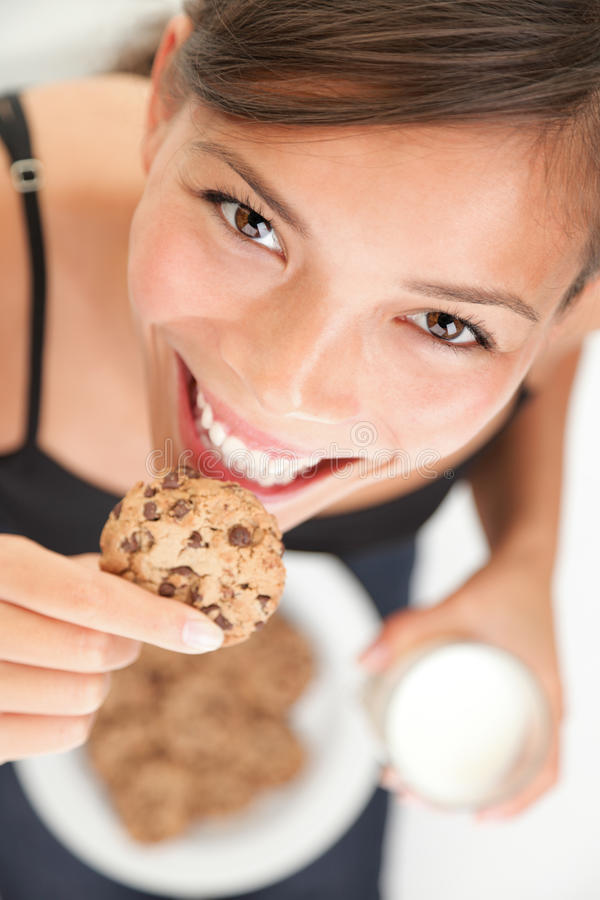 Free Cookie And Milk Royalty Free Stock Photo - 12804505