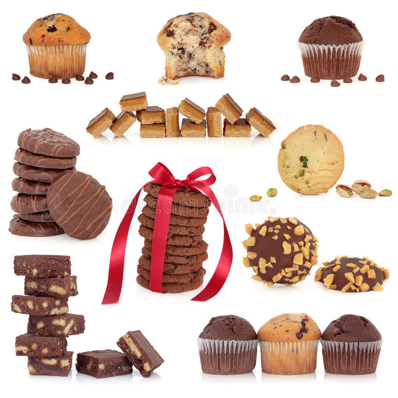 Cookie And Cake Collection Royalty Free Stock Image