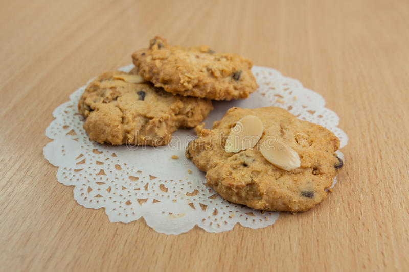 Cookie. Crisp scented and delicious taste stock photography