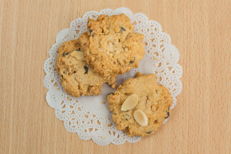Cookie. Crisp scented and delicious taste royalty free stock images