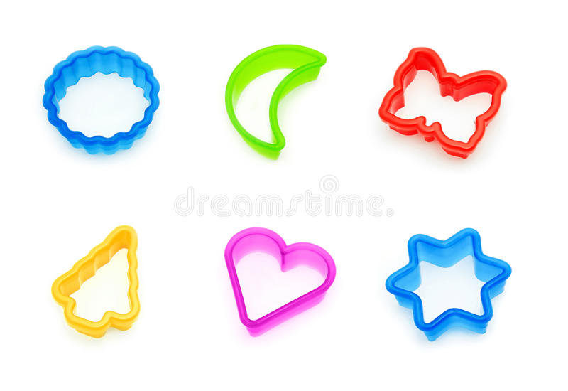 Download Cookie cutters collage stock image. Image of various - 15156805