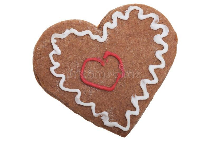 Cookie de Ginger Christmas. imagem de stock