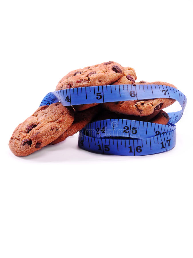 Cookie Diet royalty free stock images