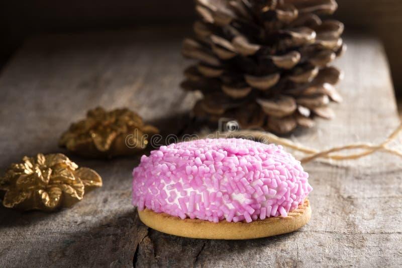 Cookie do marshmallow fotos de stock